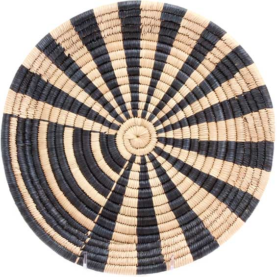 African Basket - Malawi Tray - 11.75 Inches Across - #71185