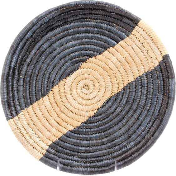 African Basket - Malawi Tray - 11.5 Inches Across - #71193