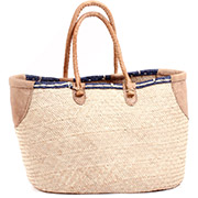 Tuareg Shopping Tote - Approximately 20 Inches Across - #73612