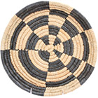 African Basket - Malawi Tray - 11 Inches Across - #73647