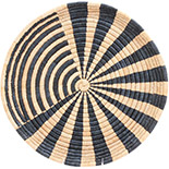 African Basket - Malawi Tray - 15.5 Inches Across - #73651