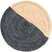 African Basket - Malawi Tray - 17 Inches Across - #73653