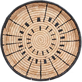 African Basket - Malawi Tray - 16.5 Inches Across - #73654