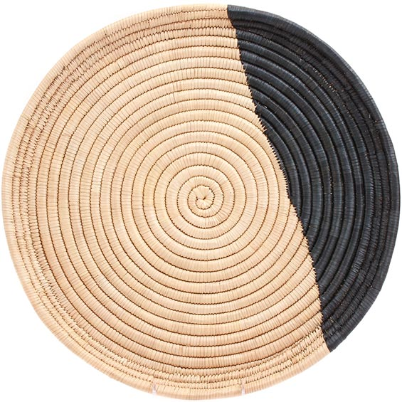 African Basket - Malawi Tray - 17 Inches Across - #73656