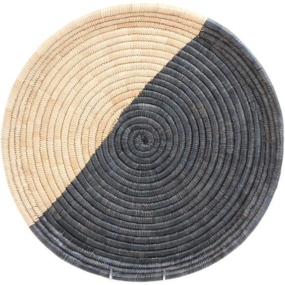 African Basket - Malawi Tray - 19.5 Inches Across - #73657