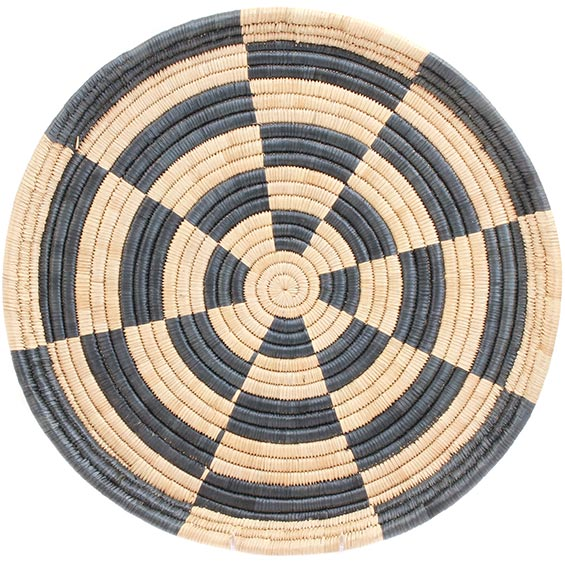 African Basket - Malawi Tray - 19 Inches Across - #73658