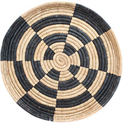 African Basket - Malawi Tray - 18 Inches Across - #73659