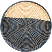 African Basket - Malawi Tray - 19 Inches Across - #73952