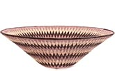 African Basket - Makalani Bowl - 15.5 Inches Across - #71752