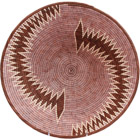 African Basket - Makalani Bowl - 13.5 Inches Across - #71771