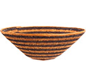 African Basket - Makalani Bowl - 11.5 Inches Across - #73130