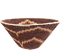 African Basket - Makalani Bowl - 11.5 Inches Across - #73131