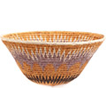 African Basket - Makalani Bowl - 11 Inches Across - #73134