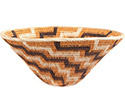 African Basket - Makalani Bowl - 11.75 Inches Across - #73135