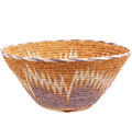 African Basket - Makalani Bowl - 11.25 Inches Across - #73142