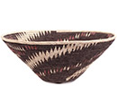 African Basket - Makalani Bowl - 12 Inches Across - #73154