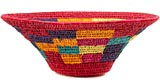 African Basket - Swazi Lutindzi - 13-15 Inches Across - #50937