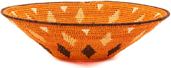 African Basket - Swaziland - Sisal Bowl -  7.75 Inches Across - #38845
