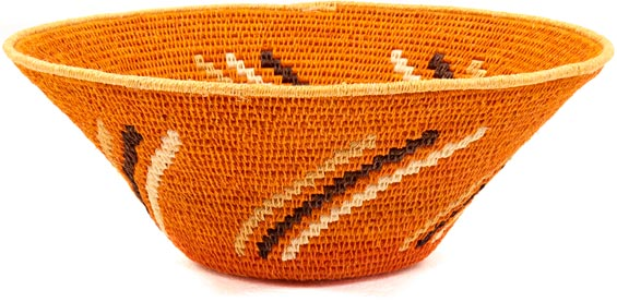African Basket - Swaziland - Sisal Bowl -  8.5 Inches Across - #38848