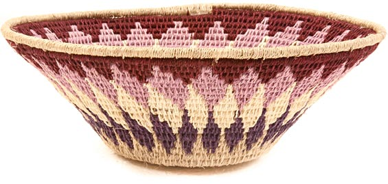 African Basket - Swaziland - Sisal Bowl -  6.5 Inches Across - #40373