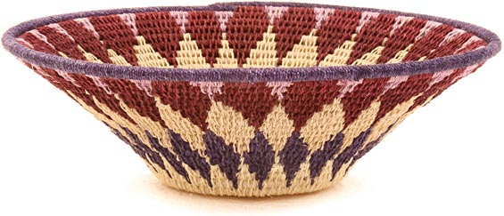 African Basket - Swaziland - Sisal Bowl -  6.5 Inches Across - #40375