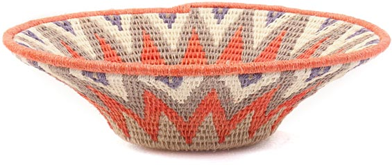 African Basket - Swaziland - Sisal Bowl -  7.75 Inches Across - #41625