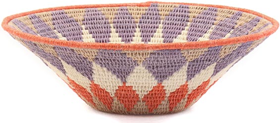 African Basket - Swaziland - Sisal Bowl -  7.75 Inches Across - #41626