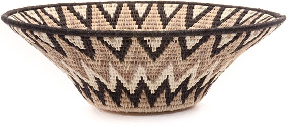 African Basket - Swaziland - Sisal Bowl -  9.5 Inches Across - #44386