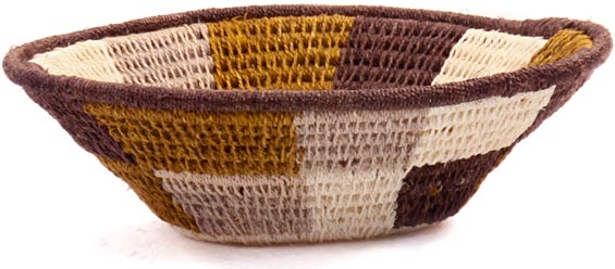 African Basket - Swaziland - Sisal Bowl -  4.5 Inches Across - #45826