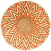 African Basket - Swaziland - Masterweave Bowl - 11.5 Inches Across - #54711
