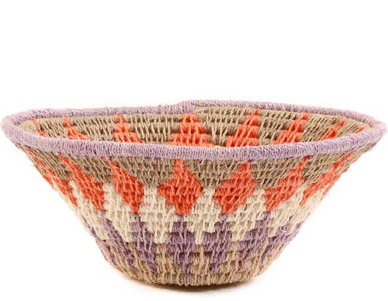 African Basket - Swaziland - Sisal Bowl -  4.5 Inches Across - #58895