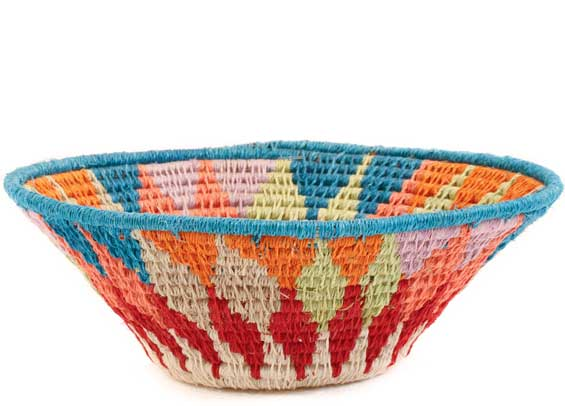 African Basket - Swaziland - Sisal Bowl -  6 Inches Across - #58913