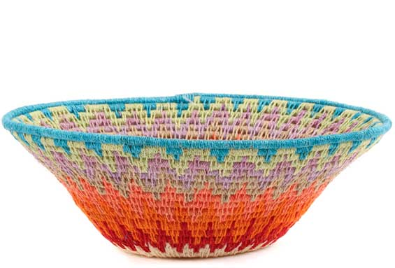 African Basket - Swaziland - Sisal Bowl -  6.5 Inches Across - #58914