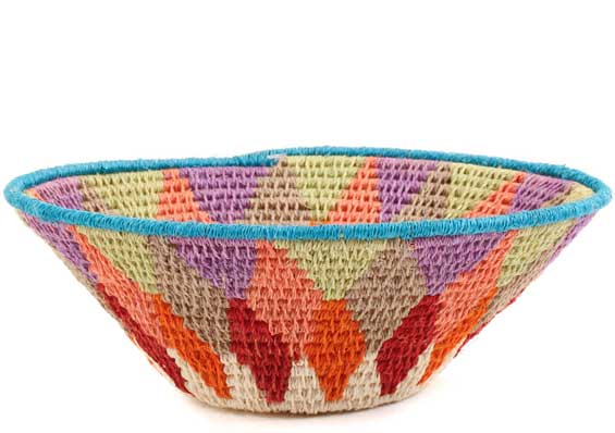 African Basket - Swaziland - Sisal Bowl -  6 Inches Across - #58916