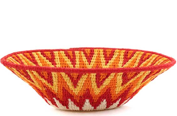 African Basket - Swaziland - Sisal Bowl -  6.5 Inches Across - #58927