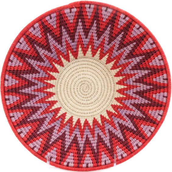African Basket - Swaziland - Sisal Bowl -  9.5 Inches Across - #58955