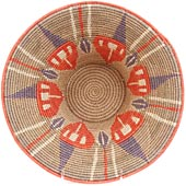 African Basket - Swaziland - Masterweave Bowl - 11.5 Inches Across - #61474