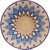 African Basket - Swaziland - Masterweave Bowl - 11.75 Inches Across - #61478