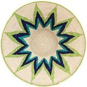 African Basket - Swaziland - Masterweave Bowl - 12 Inches Across - #61484