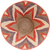 African Basket - Swaziland - Masterweave Bowl - 12 Inches Across - #61492