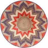 African Basket - Swaziland - Masterweave Bowl - 12 Inches Across - #61498