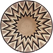 African Basket - Swaziland - Masterweave Bowl - 12 Inches Across - #61500