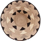 African Basket - Swaziland - Masterweave Bowl - 12 Inches Across - #61506