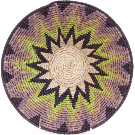 African Basket - Swaziland - Sisal Bowl -  9.5 Inches Across - #61516
