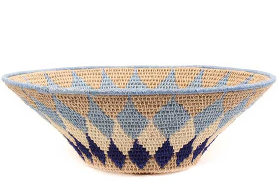 African Basket - Swaziland - Sisal Bowl -  7.75 Inches Across - #61532