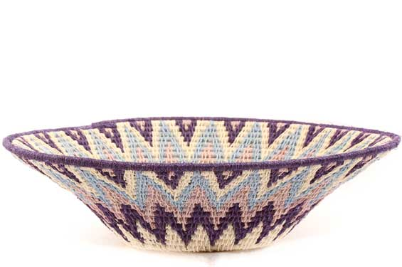 African Basket - Swaziland - Sisal Bowl -  8 Inches Across - #61534