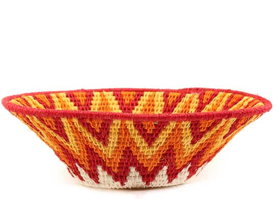 African Basket - Swaziland - Sisal Bowl -  6.5 Inches Across - #61536