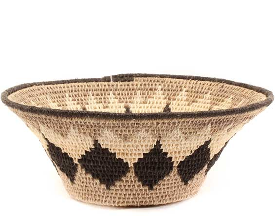 African Basket - Swaziland - Sisal Bowl -  6 Inches Across - #61548