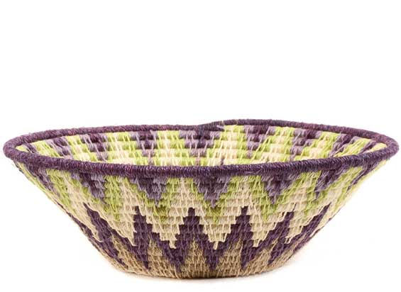 African Basket - Swaziland - Sisal Bowl -  6.5 Inches Across - #61552