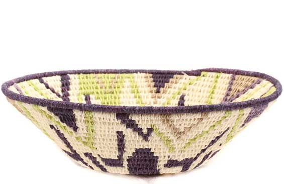 African Basket - Swaziland - Sisal Bowl -  6.25 Inches Across - #61556